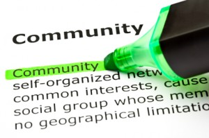 Building Community in a Large Organization